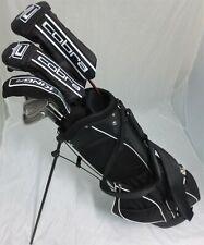 Mens King Cobra Golf Set Clubs Driver, Wood, Hybrid Irons Putter Bag Stiff Flex