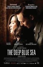 The Deep Blue Sea movie poster : 11 x 17 inches : Tom Hiddleston, Rachel Weisz
