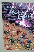 JLA Act of God #1 Dc Comic Elseworlds 2001 unread NM