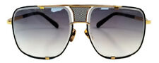 DITA Mach cinq 2087 Lunettes de Soleil Gold-Cadre Noir et Gris Lentille à Gradient