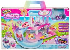 Shopkins Cutie Cars Colour Change Spa Playset Ages 5+ Toy Play Water Doll Gift
