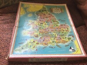 Victory Wooden Jigsaw puzzle,Industrial life in England &Wales,125 pieces,boxed