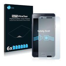 6x Displayschutzfolie Samsung Galaxy S2 G I9100G Schutzfolie Folie Displayfolie