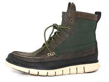 Cole Haan Zerogrand Leather Tall Boot Green Men Sz 8.5 M 6699 *