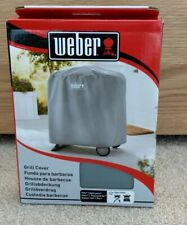 Weber BBQ Barbecue Grill Cover Q 1000/2000 7177 Brand New Boxed - Grey