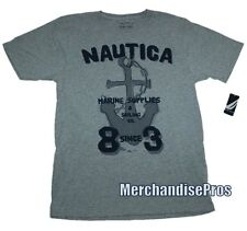 BOYS NAUTICA 'MARINE SUPPLIES' SAILING BOATING TEE XL T-SHIRT SIZE 18/20  NEW!
