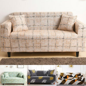 Stretchy Slipcover Sofa Cover Integrated Furniture Protector Home Living Room