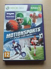 Motionsports Xbox 360 PAL Kinect