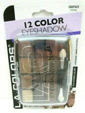 L.A. Colors 12 Color Powder Eyeshadow Nude TRENDY CBEP423