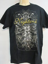 NEW - NIGHTWISH FORMS MOST BEAUTIFUL BAND  CONCERT MUSIC T-SHIRT MEDIUM