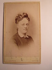 Bremen-octobre 1873-Wilhelmine de Lengerke dép Smidt comme femme/CDV