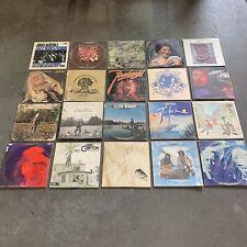 New listing HUGE Vintage Rock Vinyl Record Lot of 100 LP 1960's 1970's