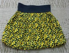 Body Central Skirt size small S - black/yellow