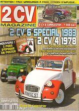 2CV MAGAZINE 81 CITROEN 2CV4 1978 2CV6 SPECIAL 1983 CHARLESTON PARIS PERSEPOLIS