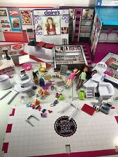 MiWorld Jakks Pacific Make Your Mall Sets 115+ Lot OPI, Italia Pizza, Claire's..