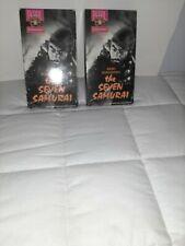 The Seven Samurai Kurosawa 1954 B&W Movie Rare 1991 Vhs