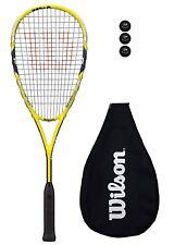 Wilson Ripper 133 BLX Squash Racket + Cover + 3 Squash Balls RRP £170