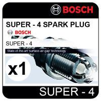 VW Polo 1.4  11.03-> [9N2] BOSCH SUPER-4 SPARK PLUG FR78X