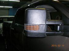 Colgan Car Mirror Covers Black Fits 15-16 Chevy Silverado 2500/3500 HD 4x4