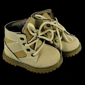Baby boys boots, shoes, Faux Suede, trendy, work style boot, 12 months - 2 years