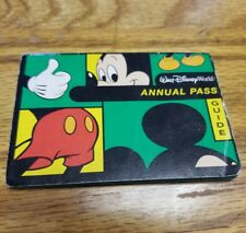 Walt Disney World Annual Pass Guide THEME PARK BROCHURE SOUVENIR 2001