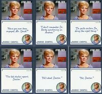 Star Trek TOS Archives & Inscriptions # 8 Christine all 13 different variations