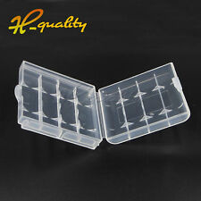 Hard Case Safe Storage Battery Box Cover Shell For Rechargeable AA AAA Battery