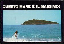 AA0724 Cosenza - Provincia - Isola di Cirella - Questo mare è il massimo!