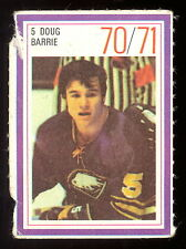 1970-71 ESSO POWER PLAYERS NHL #5 DOUG BARRIE EX+ BUFFALO SABRES UNUSED STAMP