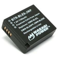 Wasabi Power Battery for Panasonic DMW-BLE9 and DMW-BLG10
