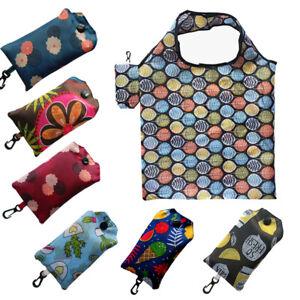 Foldable Reusable Roll Up Bag Eco Shoulder Shopping Handbag Fold Pouch BAGS