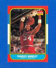 1986/1987 Fleer Basketball #7 Charles Barkley RC 86/87 Rookie Set Card EX/MT