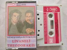 Livaneli, Theodorakis: Günes Topla Benimicin - MC Cassette Musikkassette RARE