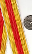 6 INCH LENGTH WWI Imperial German Baden Merit Medal Ribbon cross