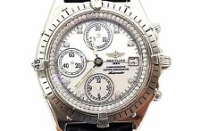 BREITLING 81950 CHRONOMAT STAINLESS STEEL MENS AUTOMATIC WATCH CHRONOGRAPH