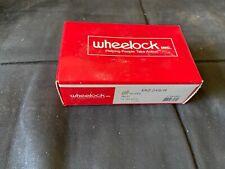 Nib New Wheelock Miz 24s R Fire Alarm Mini Horn Wall Red