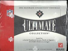 2006 Ultimate Collection Factory Sealed Football Hobby Box   Jay Cutler RC ???