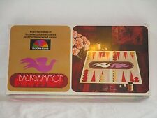 Selchow & Righter 1975 Backgammon Game SEALED