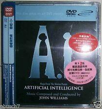 OST JOHN WILLIAMS Artificial Intelligence DVD AUDIO w/OBI LARA FABIAN