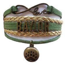 Baylor University Bears College Infinity Bracelet Jewelry Apparel