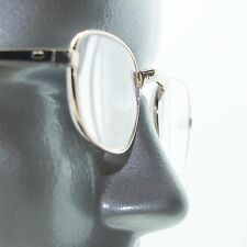 Gold Metal Wire Frame Small Oval Classic Simple Reading Glasses +1.00 Lens