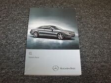 2012 Mercedes Benz CL550 CL600 CL65 CL63 AMG Owner Owner's Operator Guide Manual