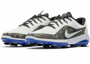 Nike React Vapor 2 NRG Ryder Cup Size 12 Shoes White Camo Blue BV2108-101