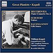 Piano Concerto No. 2/waltzes/cello Sonata (Kapell) CD NEW