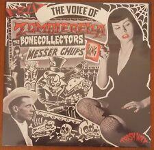 MESSER CHUPS / BONECOLLECTORS - Voice of Zombierella BLACK vinyl LP (New) LTD
