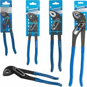 Silverline Plumbers Slim Jaw Soft Grip Waterpump Pipe Wrench Pliers 180 - 400mm