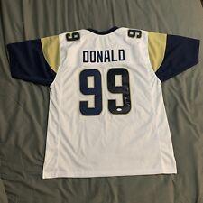 ded0de363 Aaron Donald autographed signed jersey NFL Los Angeles Rams JSA w  COA Pro  Bowl