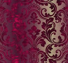 Hollywood A.S. Création 95417-1 Papiertapete Barock  rot violett creme (2,24€/1q