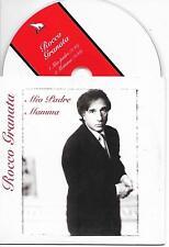 ROCCO GRANATA - Mio Padre / Mamma CD SINGLE 2TR Cardsleeve 1996 Belgium