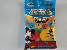 """Mickey Mouse Club House Quick Link 12"""" Latex Balloons 10pk"""